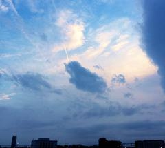 ★水色の空