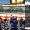 zwift KISS America AM Race(C)参加