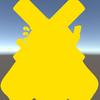 【Unity】【UIEffect】uGUI で単色シェーダを使用する