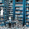 図書館・・・