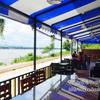 メコン川を見ながらオシャレなカフェでランチ。ナコンパノムのblu cafe(ブルーカフェ)