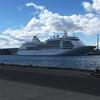 大型客船シルバーシャドーの釧路寄港。