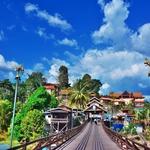 「カンチャナブリー」からタイ西部、ミャンマー国境の街「サンクラブリー」へ!!