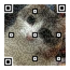 QRコードと画像が合成できる