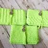 簡単にできる模様編みでズパゲッティポーチを作りました!