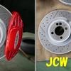 JCWブレーキキット装着(R56MINI)