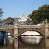 雪の朝 「皇居前広場 二重橋」