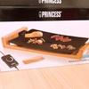 プリンセス テーブルグリルストーンを使ってみました。