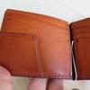 土屋鞄 ウルバーノバタフライクリップ 1ヶ月後のエイジング
