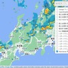 Leaflet地図:「RainViewer」の雨雲レーダーを重ねて表示。サンプルソース。