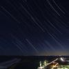 犬吠埼と九十九里浜の星空
