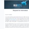 Hitbtc日本人規制発動。その理由とは?Hitbtcを主取引所としているノアコインなどが暴落・・