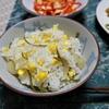 生姜とトウモロコシの炊込みご飯