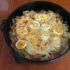 すき焼き鍋でポテトグラタン