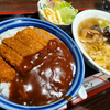 味乃家@土岐でカツ丼と天ぷら入り中華そば