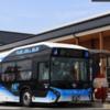 燃料電池バス(Fuel Cell Bus) セントレア-常滑イオン間 無料で運行開始