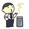 パチンコ店の喫煙所を見てきた!ホントに4月から禁煙なのだ。 ~狭苦しい喫煙所~