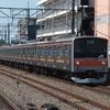 武蔵野線205系 19日で運用離脱しました。