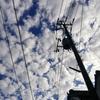 きょうの雲と納豆ごはん