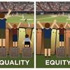 【ベーシックインカムの簡易考察】平等と公平の違い