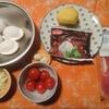 トマトとジャガイモのフリッタータ