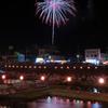 越後加茂川夏祭り