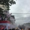 水かけ祭りに行ってきました! ミャンマー/ヤンゴン
