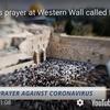 敬虔派ユダヤ教徒、嘆きの壁で新型コロナウイルスの沈静化を祈る!