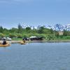 丘のまちびえいカヌークラブ25周年記念カヌー体験会