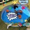 お庭プールは、空気入れ不要の「INTEX(インテックス)スナッププール」簡単でおすすめ!お庭プールでのおもちゃも♪