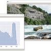 OpenCV + Matplotlib (Seaborn) で 2 画面の動画 + グラフ表示