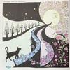 「世界一周ぬり絵の旅」P4の作品