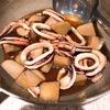 イカと里芋の煮付け
