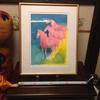 00010『リトグラフ:「草原の馬」』(ポール・ギアマン 作。限定300部。企業依頼・記念品)