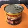トナカイの缶詰めを調理してみました(^^)
