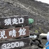 富士山登山道、危険な方向へウソ矢印 42カ所に落書き