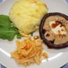 天恵菇(てんけいこ)と言うジャンボ椎茸のステーキ