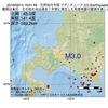 2016年09月13日 19時01分 石狩地方中部でM3.0の地震