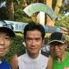 今日は大阪狭山のラン友と楽しくジョギング。