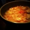 【料理】生姜もたっぷりキャベツのお味噌汁を作ったよ!