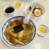 朝からラーメン&ミニチャーシュー丼!