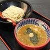 【三田製麺所】バランス型のつけ麺。スープも複雑ながらまとまりのある味わい(ジアウトレット広島)
