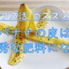 【クズ活】バナナの皮は使い道がいっぱい② 優秀な肥料、カリウム爆弾!