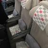 JAL 日本航空 JL746 マニラ-成田 フライト日記 機材、食事を紹介