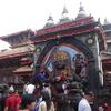 ネパールの首都のカトマンズに上陸!!
