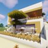 【マイクラ】オープンカフェを作る【砂漠の村をリメイクするよ 8】
