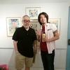 川崎タカオさんの『ガムのようせい』絵本原画展終了いたしました。