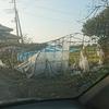まだ断水中 台風被害と本日のアルバイトメシ