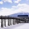 鶴の舞橋1日300円有料駐車場とおむつ交換スペース!冬もOK青森観光スポット