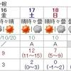 20日(火)雪注意!
